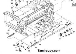 گیر کاغذ در قسمت استوپر دستگاه فتوکپی شارپ: