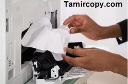 چرا کاغذ در دستگاه کپی چروک می شود( کاغذ در کپی شارپ چروک میاید)