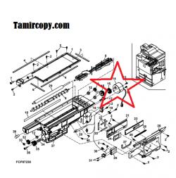 موتور Toner hopper unit دستگاه فتوکپی شارپ